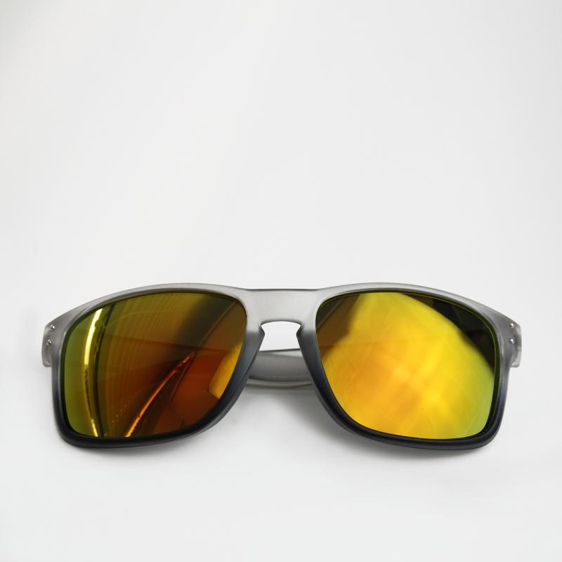 moinsen® Wayfarer, matt transparent, grau-schwarz - moinsen